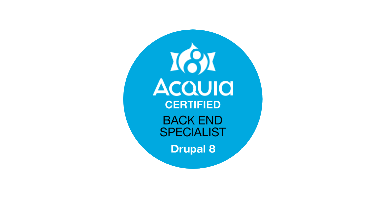 Acquia Certified Back End Specialist
