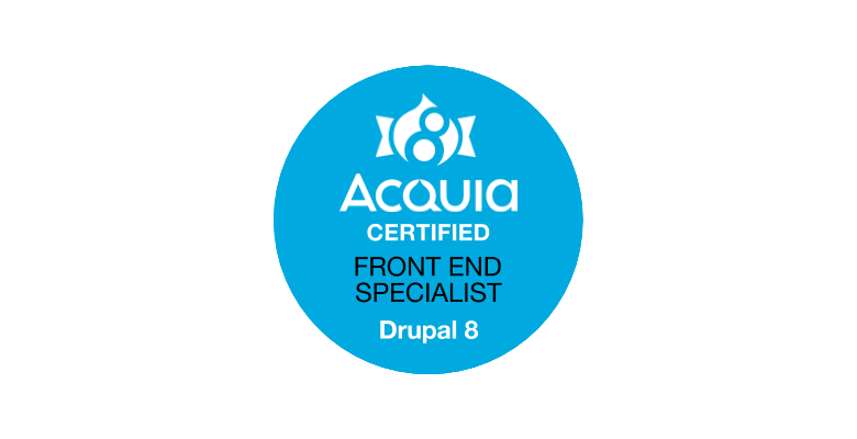 Thoughts on the Acquia Certified Front End Specialist Exam