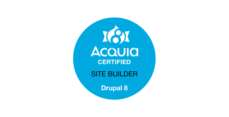 Thoughts on the Acquia Certified Site Builder Exam for Drupal 8