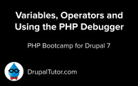 Your First PHP Program, Variables and Operators