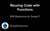 Reusing Code with Functions