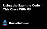 Using the Example Code in This Class