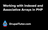 Indexed and Associative Arrays