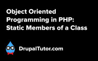 Object Oriented Programming: Static Members