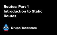 Routes: Part 1 - Static Routes