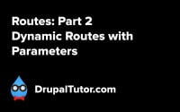 Routes: Part 2 - Dynamic Routes with Parameters