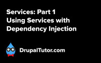 Services: Part 1 - Using Services with Dependency Injection