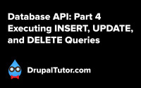 Database API: Part 4 - INSERT, UPDATE, and DELETE Queries