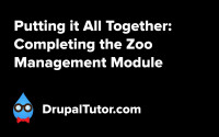 Putting it All Together - Completing the Zoo Management Module