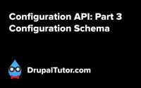 Configuration API: Part 3 - Configuration Schema