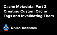 Cache Metadata: Part 2 - Custom Cache Tags and Invalidating Them